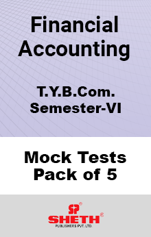 Financial Accounting BCOM SEM VI – Mock Tests (Pack of Five)