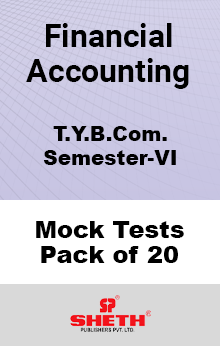 Financial Accounting BCOM SEM VI – Mock Tests (Pack of Twenty)