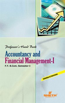 Professor Handbook in Accountancy and Financial Management – S.Y.B.Com.–Semester – IV
