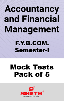 Accountancy and Financial Management BCOM SEM I Mock Tests Pack of Five