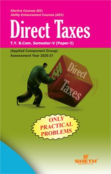 Direct Taxes -B.Com - Semester-V- (Only Practical Problem)