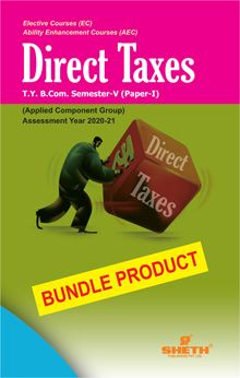 Direct Taxes -B.Com - Semester-V - Bundle Product