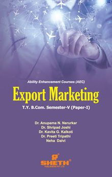Export Marketing- B.Com-Semester-V