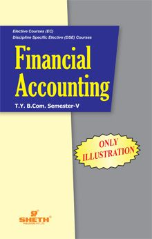 Financial Accounting (Only Illustrations)–T.Y.B.Com.–Semester–V