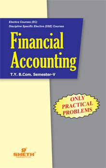 Financial Accounting (Only Practical Problems)–T.Y.B.Com.–Semester–V