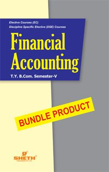 Financial Accounting- B.Com - Semester-V - Bundle Product