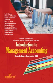 Introduction to Management Accounting-B.Com - Semester-III