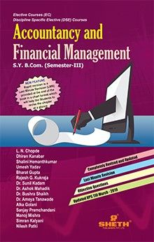Accountancy & Financial Management - B.Com - Semester-III