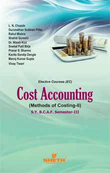 Cost Accounting (Methods of Costing) – II- S.Y.B.C.A.F- Semester-III