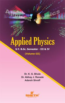 Applied Physics–S.Y.B.Sc.–Semester–III & IV (Vol.–III)