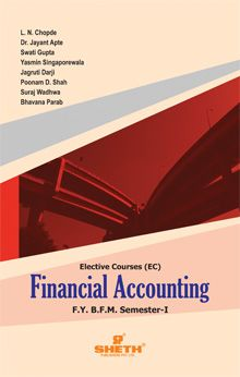 Financial Accounting – F.Y.B.F.M. – Semester – I