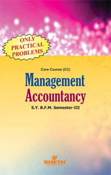 Management Accounting (Only Practical Problems)-S.Y.B.F.M.–Semester–III