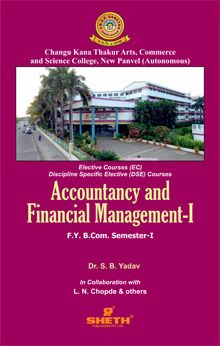 Accountancy and Financial Management–F.Y.B.Com.–Semester–I
