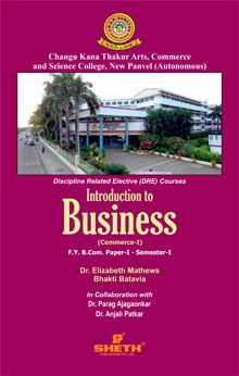 Introduction to Business (Commerce–I)–F.Y.B.Com.–Semester–I