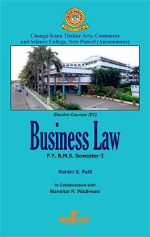 Business Law–F.Y.B.M.S.–Semester.–I