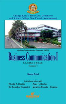 Business Communication-I–F.Y.B.M.S.–Semester.–I