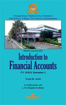 Introduction to Financial Accounts–F.Y.B.M.S. Semester–I