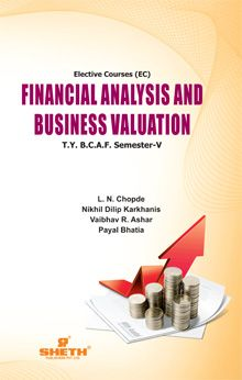 Financial Analysis & Business Valuation–T.Y.B.C.A.F.–Semester–V