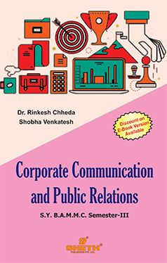 Corporate Communication and Public Relations - S.Y.B.A.M.M.C - Semester-III