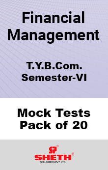 Financial Management BCOM SEM VI – Mock Tests (Pack of Twenty)