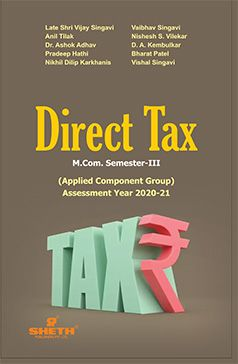 DIRECT TAX- M.COM - SEMESTER-III