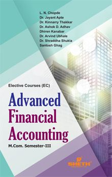 Advanced Financial Accounting - M.COM Semester III