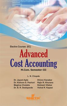 Advance Cost Accounting–M.Com.–Semester–III