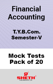 Financial Accounting BCOM SEM V Mock Tests Pack of Twenty
