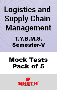 Logistics and Supply Chain Management BMS SEM V Mock Tests Pack of Five