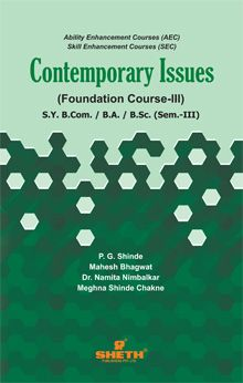 Contemporary Issues (FC–III)–S.Y.B.A.–Semester–III