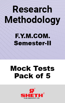 Research Methodology MCOM SEM II Mock Tests Pack of Five