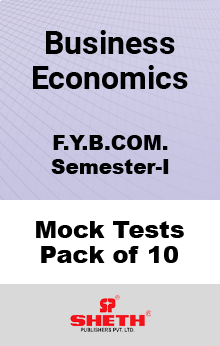Business Economics – BCOM – SEM I Mock Tests Pack of Ten