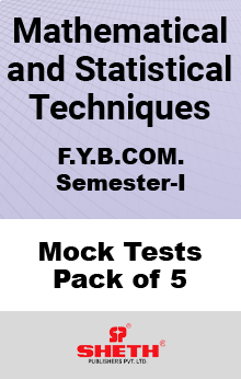Mathematics – BCOM – SEM I Mock Tests Pack of Five