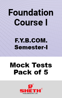 Foundation Course-I   – BCOM – SEM I Mock Test Pack of Five