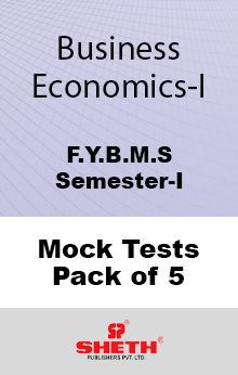 Business Economics–B.M.S.–Sem–I Mock Tests Pack of Five