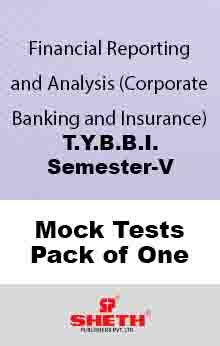 Finan. Rep. Anal.–B.B.I.–Sem–V Mock Test Pack of One