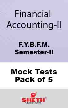 Financial Accounting BFM Sem II Mock Test (Pack of Five)