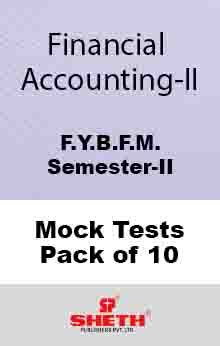 Financial Accounting BFM Sem II Mock Test (Pack of Ten)