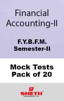 Financial Accounting BFM Sem II Mock Test (Pack of Twenty)