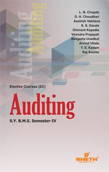 Auditing–S.Y.B.M.S.–Semester–IV