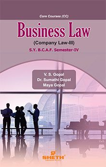 Business Law - S.Y.B.C.A.F. Semester IV