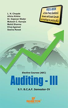 Auditing S.Y.B.C.A.F - Semester IV