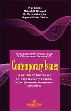 Contemporary Issues (FC - IV) S.Y.B.C.A.F Sem IV