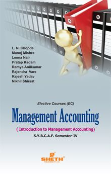 Management Accounting - S.Y.B.C.A.F. Sem. IV