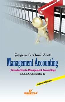 Prof. Handbook in Management Accounting S.Y.B.C.A.F Sem. IV