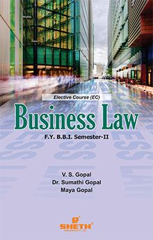 Business Law – F.Y.B.B.I.–Semester–II