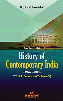 History of Cont India–T.Y.B.A.–Sem–VI