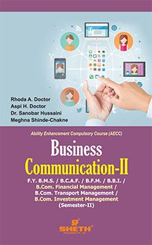 Business Communication–F.Y.B.B.I.–Semester–II