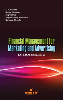 Fin. Mgt. for Marketing & Advertising–T.Y.B.A.M.M.C.–Semester–VI