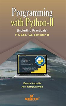 Programming with Python – F.Y.B.Sc.–C.S.– Semester–II